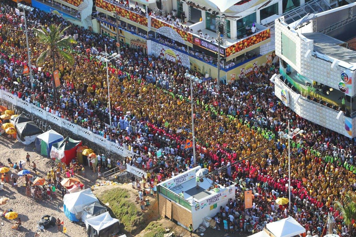 Circuitos do Carnaval serão fechados